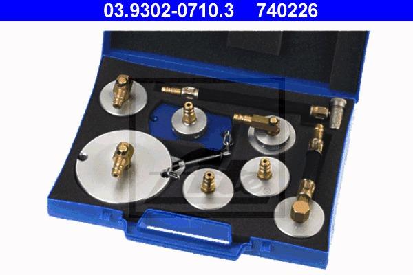 Anschlussschlauch Entlüftungsgerät-Entlüfterventil ATE 03.9302-0704.2