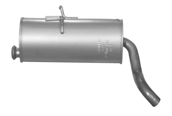 Endschalldämpfer Peugeot Partner 1.1 1.4 1.6 1.8 1.9 Auspuff Endtopf Montagesatz