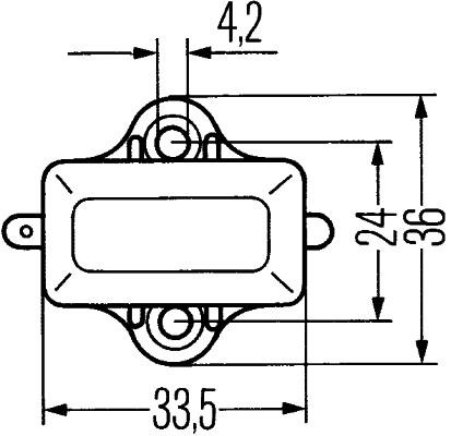 HELLA Bremsleuchte Schalter