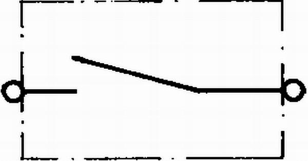 Zünd-//Startschalter für Startanlage Universal HELLA 6JF 001 571-171