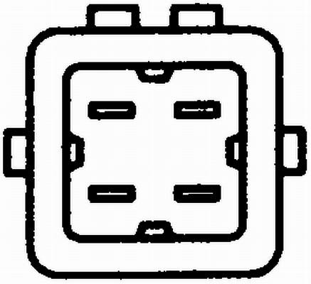 HellaSensor 6PT 009 107-421 Kühlmitteltemperatur gesteckt mit Dichtung