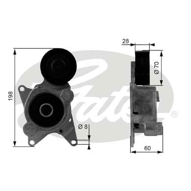 K017PK2000 GatesKeilrippenriemensatz Micro-V® Kit Toyota Keilrippenriemen
