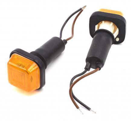 Universal HELLA 2BM 009 320-807 Zusatzblinkleuchtensatz für Signalanlage