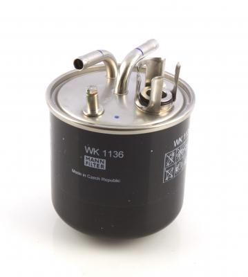 wk 1136 mann filter wk1136 kraftstofffilter g nstig kaufen. Black Bedroom Furniture Sets. Home Design Ideas