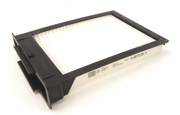 cu2317 mann filter filter innenraumluft g nstig online kaufen. Black Bedroom Furniture Sets. Home Design Ideas