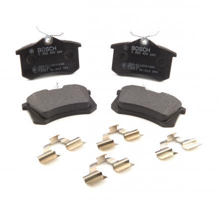 Bremsbelagsatz Scheibenbremse für Bremsanlage Hinterachse BOSCH 0 986 494 775