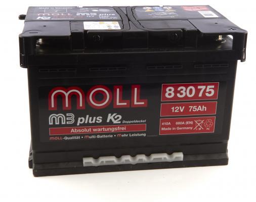 MOLLBATTERIEN Moll M3plus K2 83075