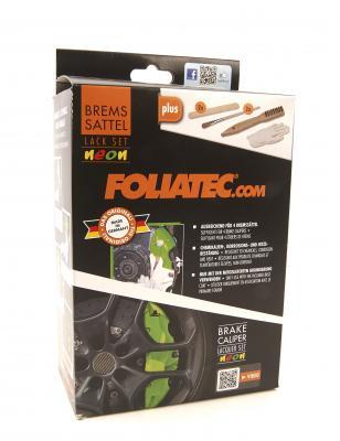 Folia Tec Boehm GmbH Bremssattellack-Set Foliatec 2184