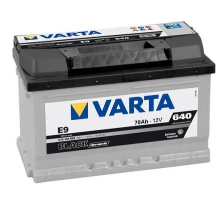 VARTA VARTA BLACK dynamic 5701440643122