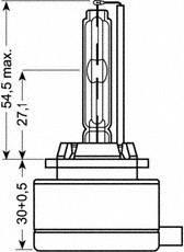OSRAM Xenon D1S Brenner 66140SVS