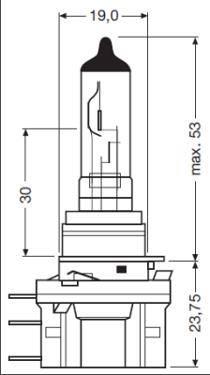 OSRAM H15 - Leuchtmittel 64176