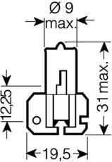 OSRAM H2 - Leuchtmittel 64173
