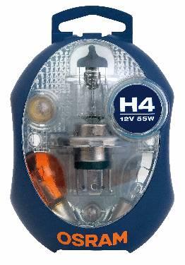 OSRAM Glühlampensortimente CLKM H4