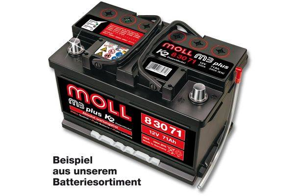 MOLLBATTERIEN Moll M3plus K2 83071
