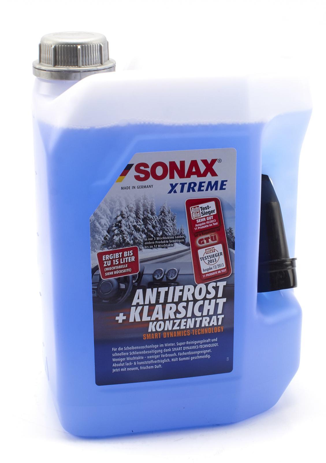5l sonax 232 505 sonax xtreme nanopro antifrost 232505 ebay. Black Bedroom Furniture Sets. Home Design Ideas